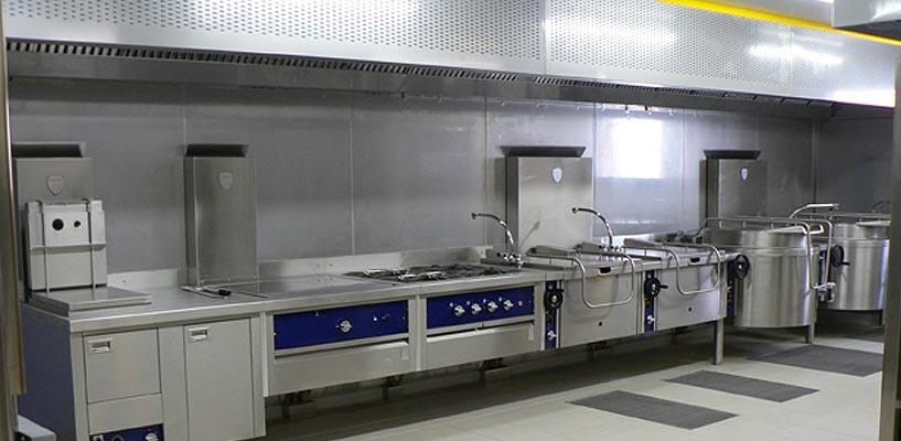 Mat riel de cuisines professionnelles acf chappert - Plan cuisine professionnelle ...